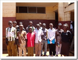 2011 Scholaship recipients Cheleta