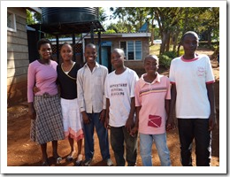 2011 scholarship recipients Lower Kabete